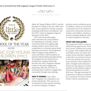Little Magazine Awards Description