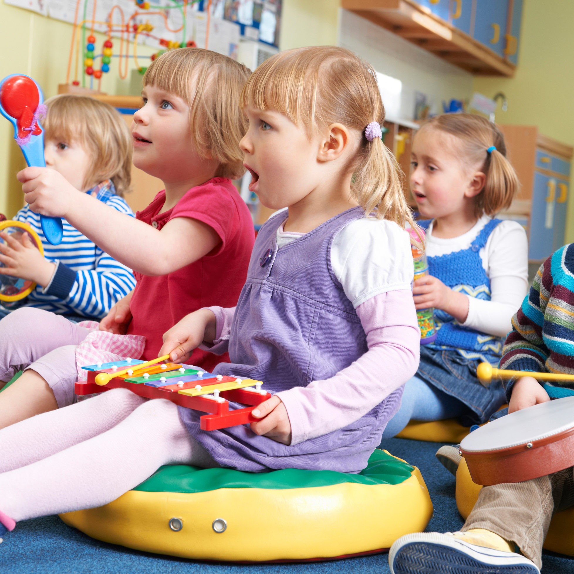 Using Music to Develop Young Brains