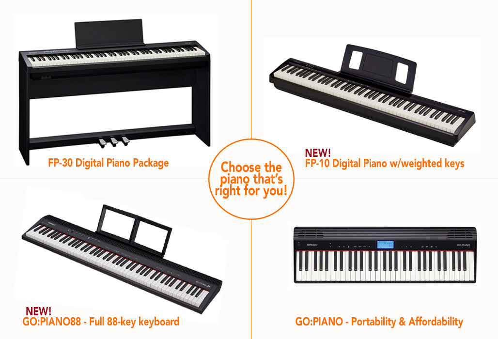 Roland Pianos | Music for Young Children
